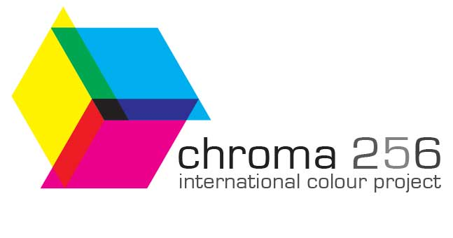 Logo for the chroma-256 project